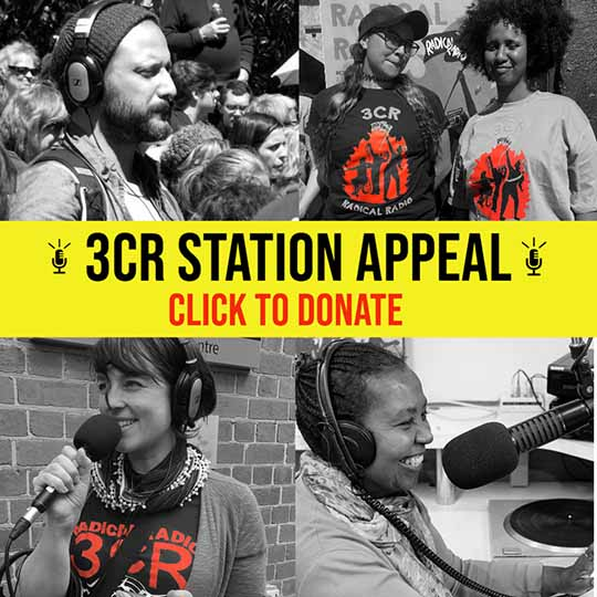 3CR Station Appeal