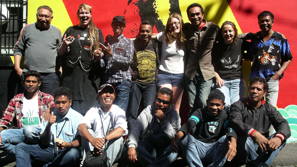 East Timorese Group Tour and Training