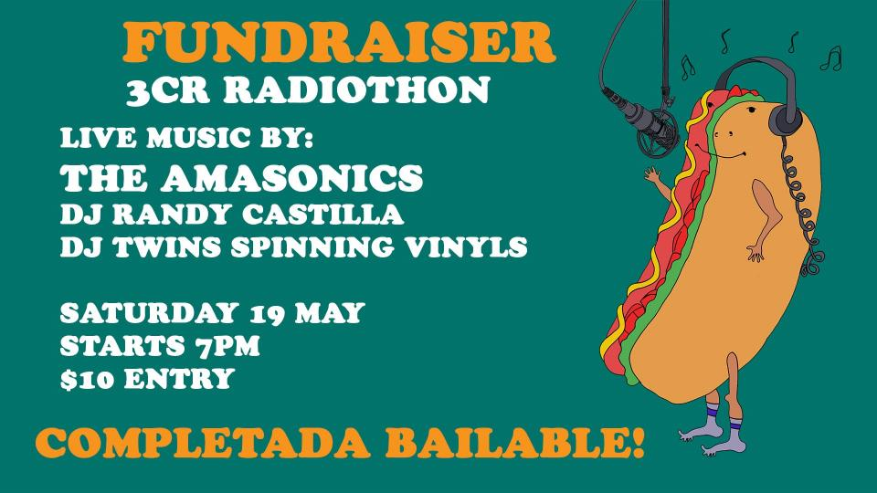Completada Bailable fundraiser 19 May