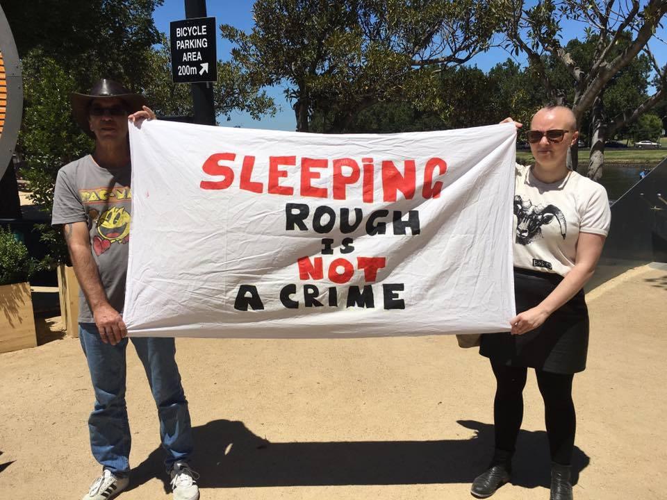No Homelessness Ban 2017