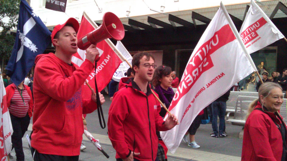 Rally for workers rights
