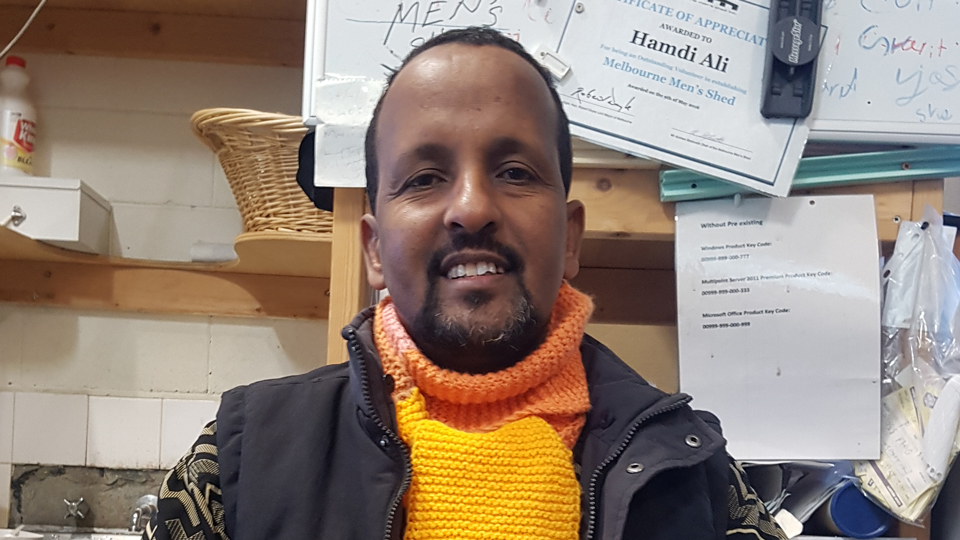 Hamdi Ali - Somali Show presenter
