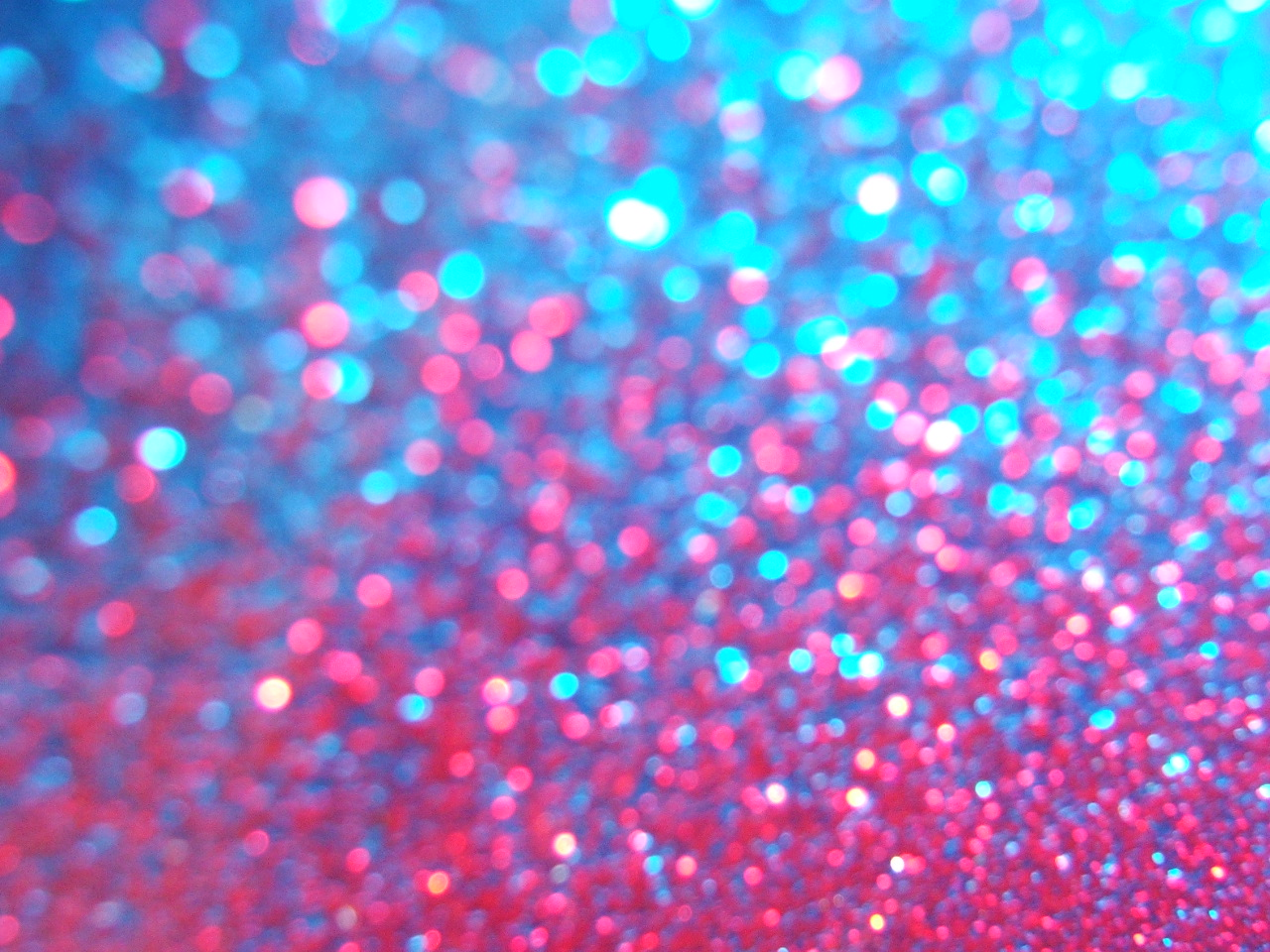 Image of pink and blue speckles