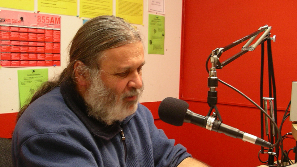 Anarchist World host Joe Toscano