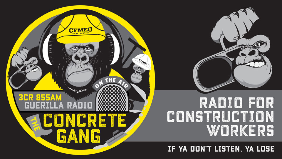 The Concrete Gang, 9.30am Sundays