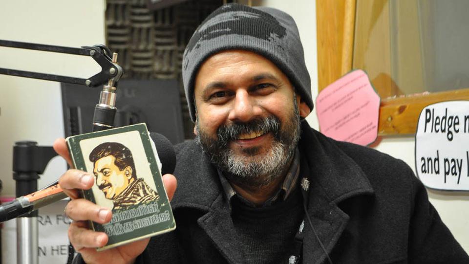 Tamil Voice presenter