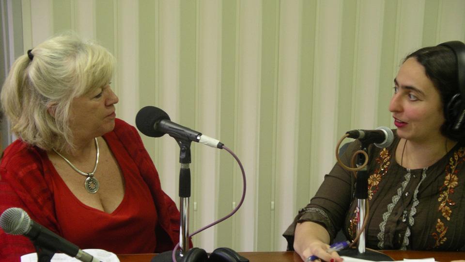 Pamela Curr and Sonia Randhawa at the ASRC