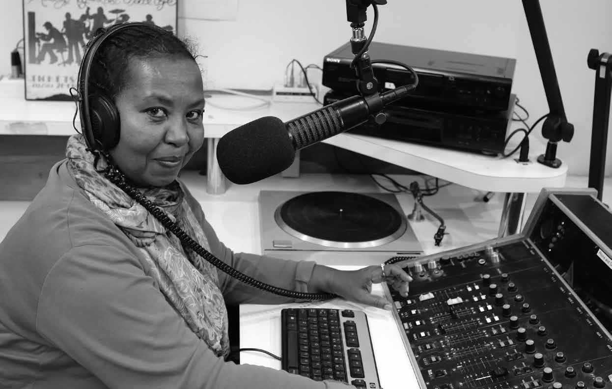 Aziza Hussein Monday 3CR Breakfast Show presenter producer