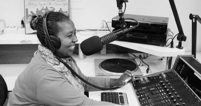 Aziza Hussein Nile Show presenter 3CR Radio