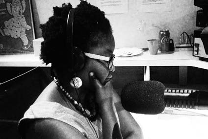 Tuesday Breakfast 3CR Radio presenter Hope Mathumbu