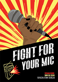 2018 CRAM Guide cover - Fight for your mic