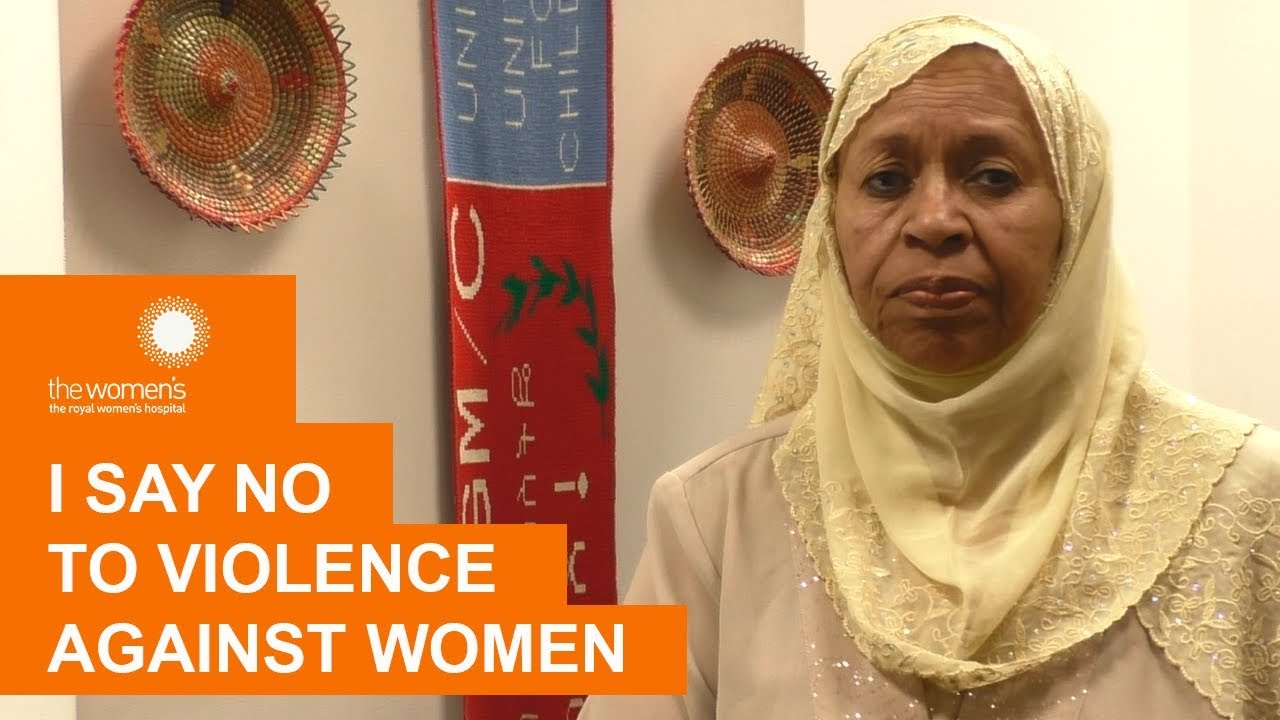 Medina Idriess says 'No' to Violence Against Women/The Women's
