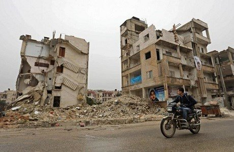 Destruction of Idlib