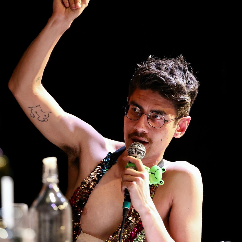 Queer Performer Luke Forester and Family Violence Activist Lyn Johnson-Vestjens