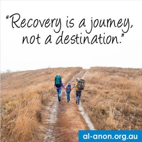 Recovery is a journey, not a destination.