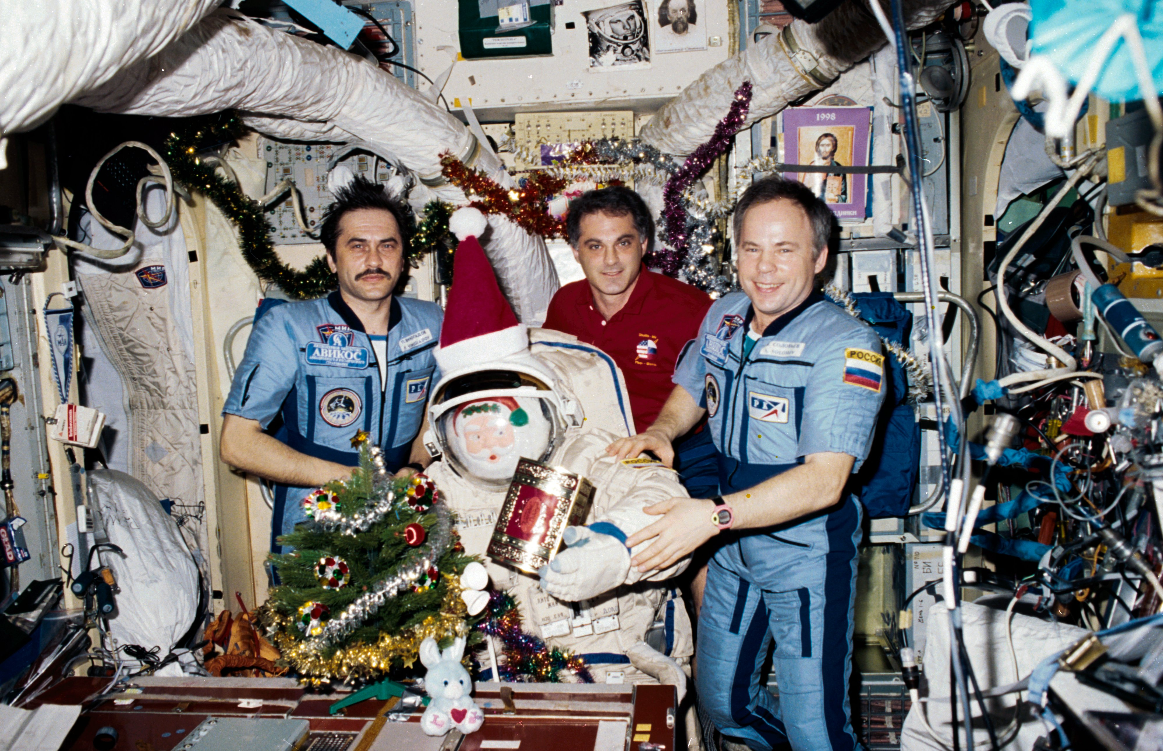 Christmas in space might be more common in the future than in 1987