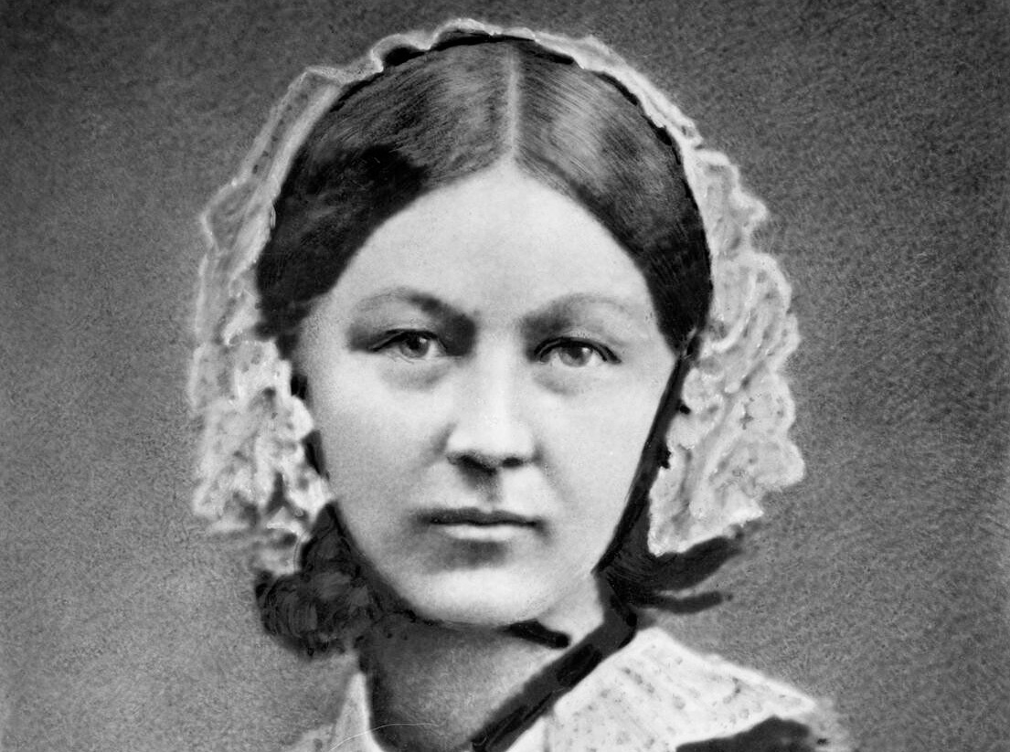 Florence Nightingale (photo by Henry Hering, ca 1860)