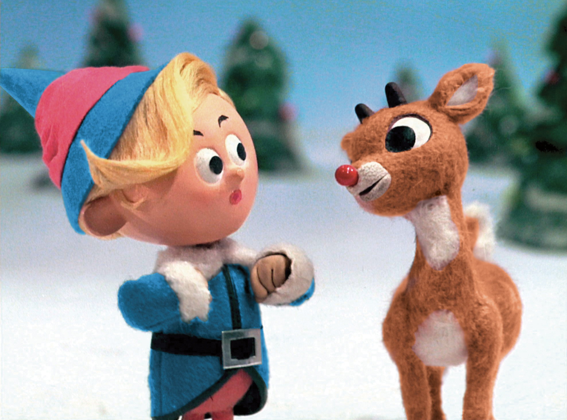 Rudolph Red Nose Shock!