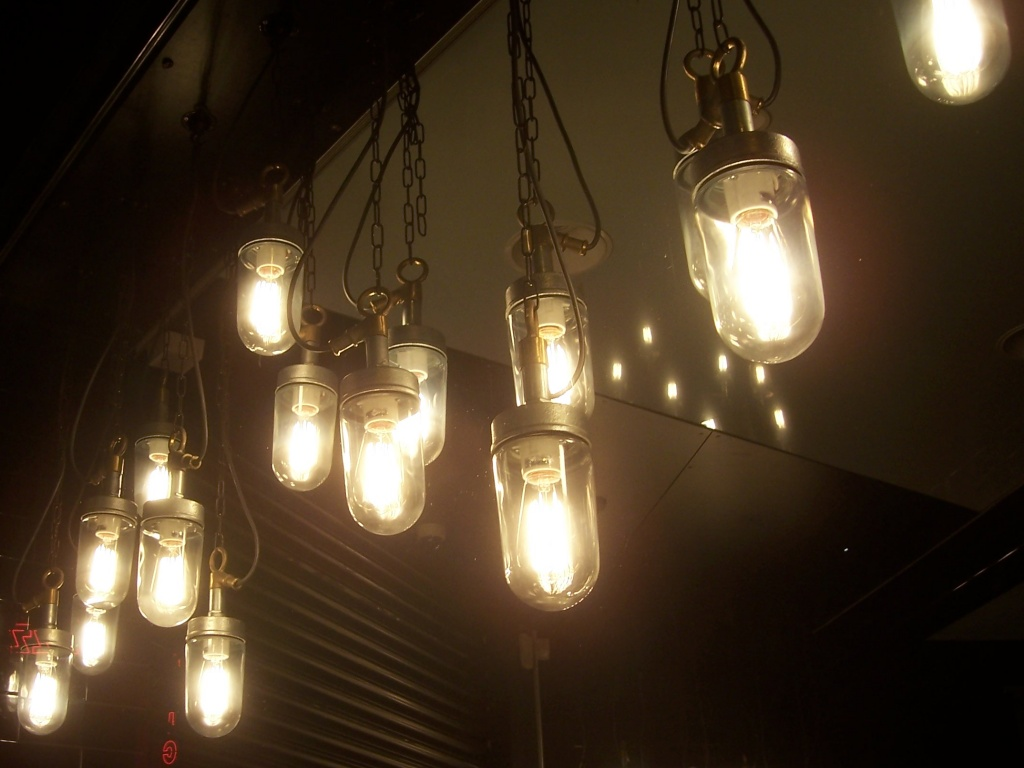 Edison style bulbs are fashionable, but old fashioned