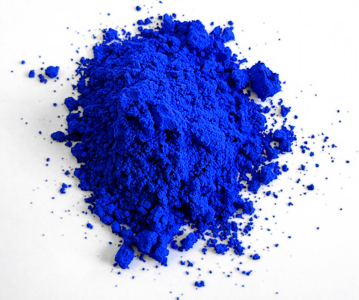 YInMn blue (Photo: Oregon State University)