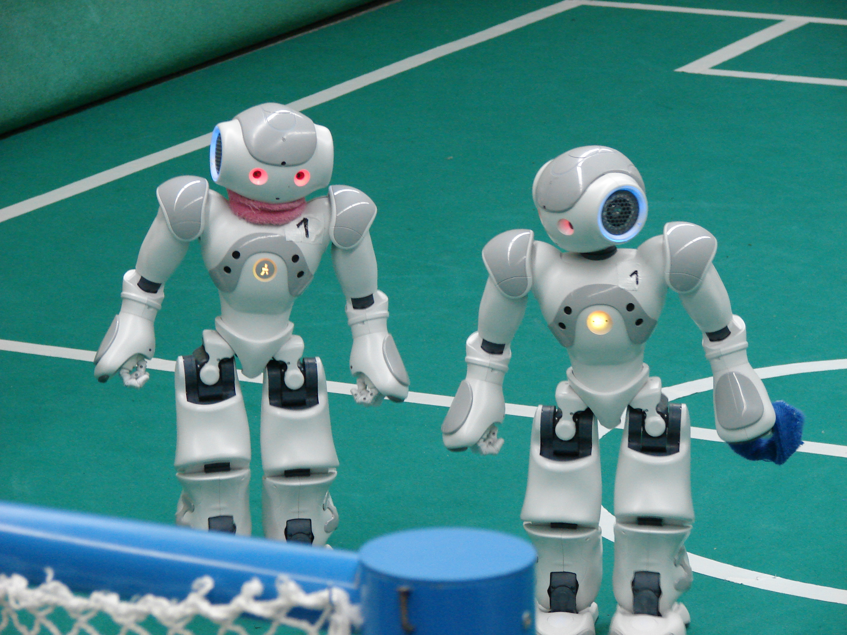 Robots in the RoboCup