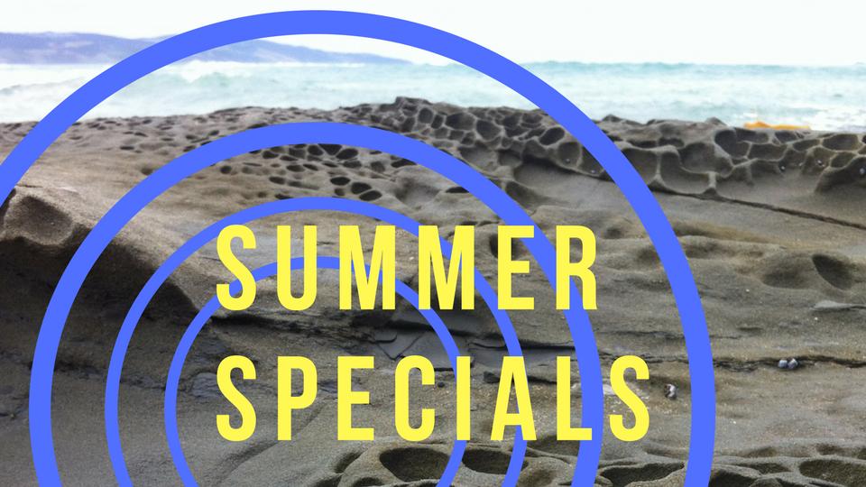 Summer specials 2017-2018