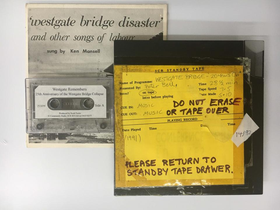 Westgate bridge disaster - audio archives