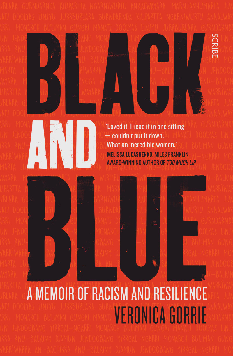 """""""Black and Blue,"""" debut book by Veronica Gorrie"""