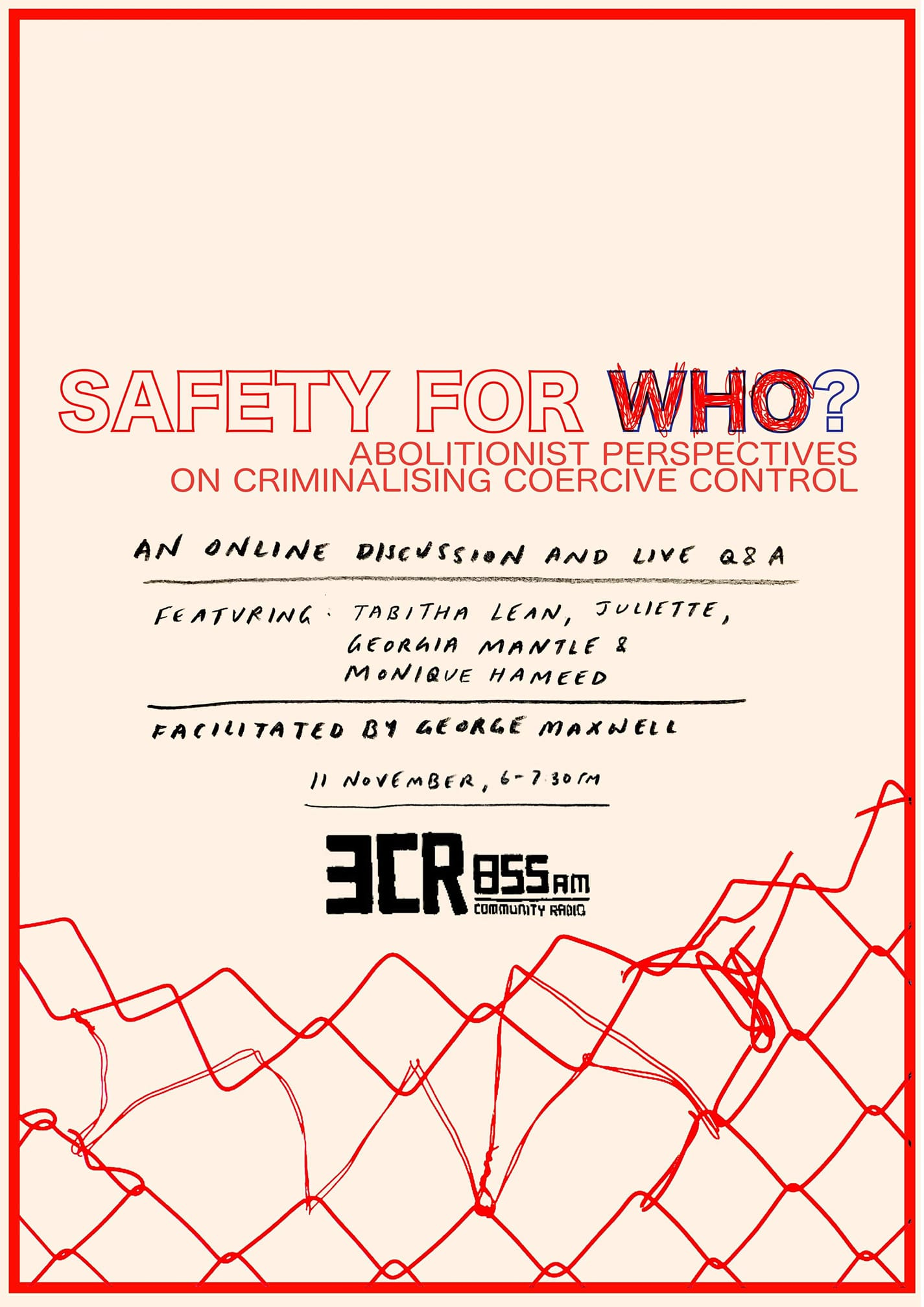 Safety for Who?: Abolitionist perspectives on criminalising coercive control