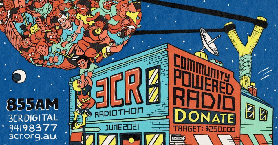 3CR Radiothon is GO!