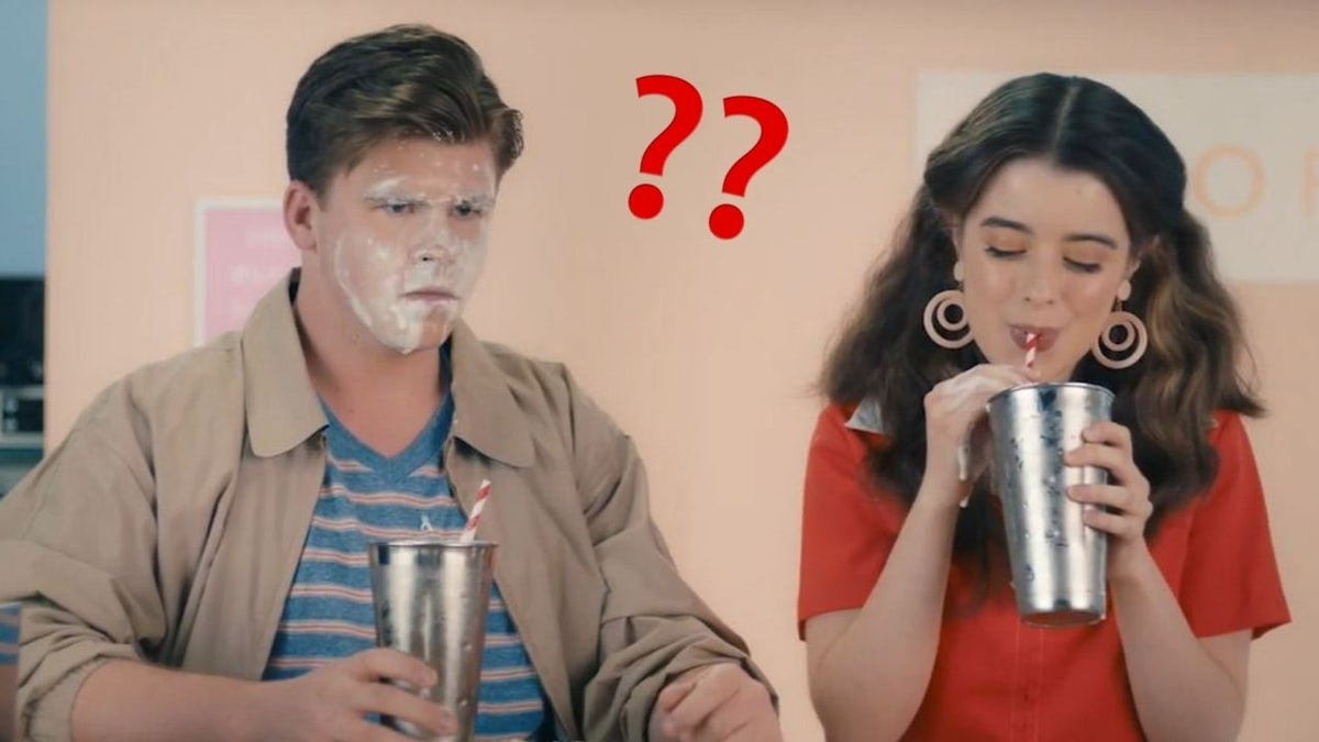 Milkshake consent video. Image: Pedestrian TV