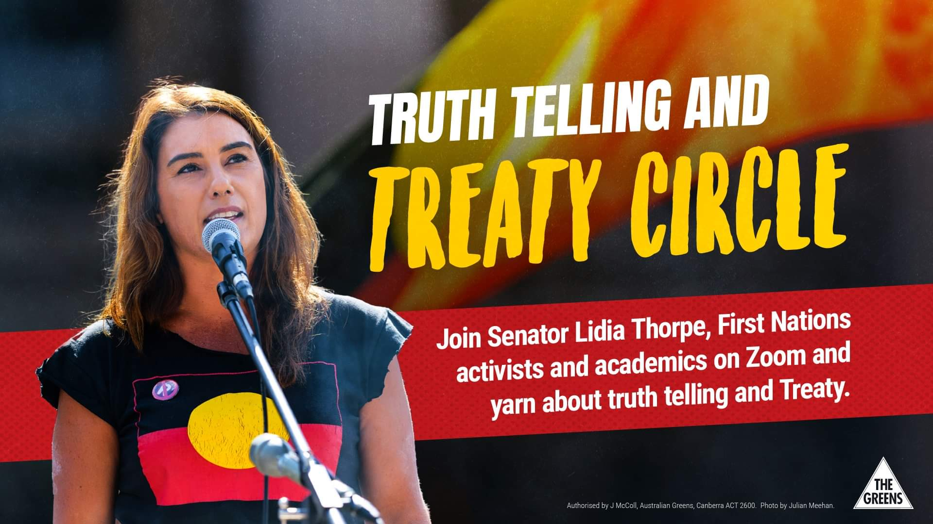 Poster for Truth Telling and Treaty Circle event