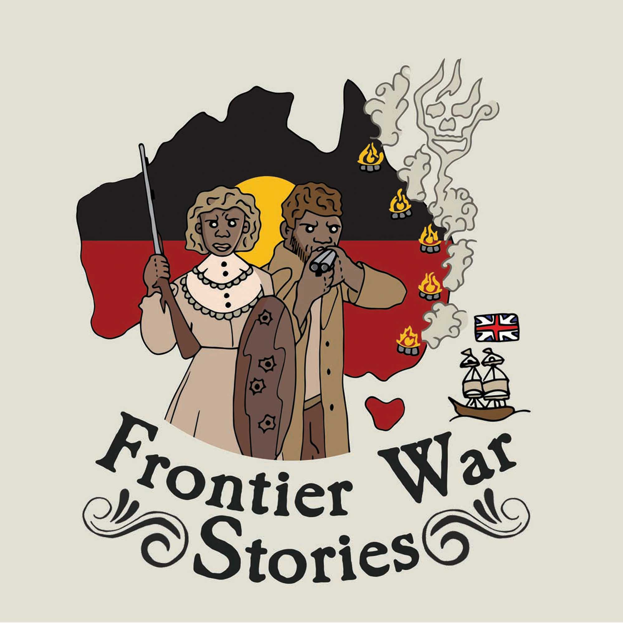 Frontier War Stories podcast image