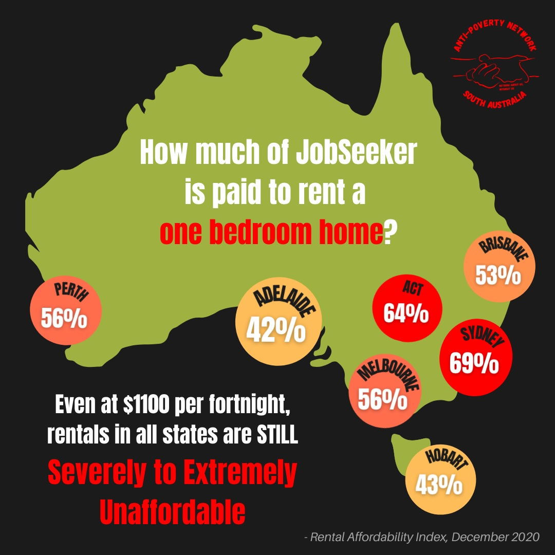 Where does Jobseeker payment go?