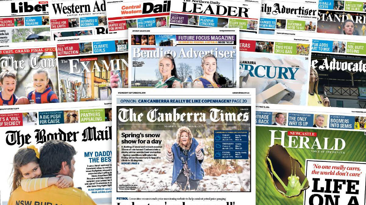 Regional print media in crisis