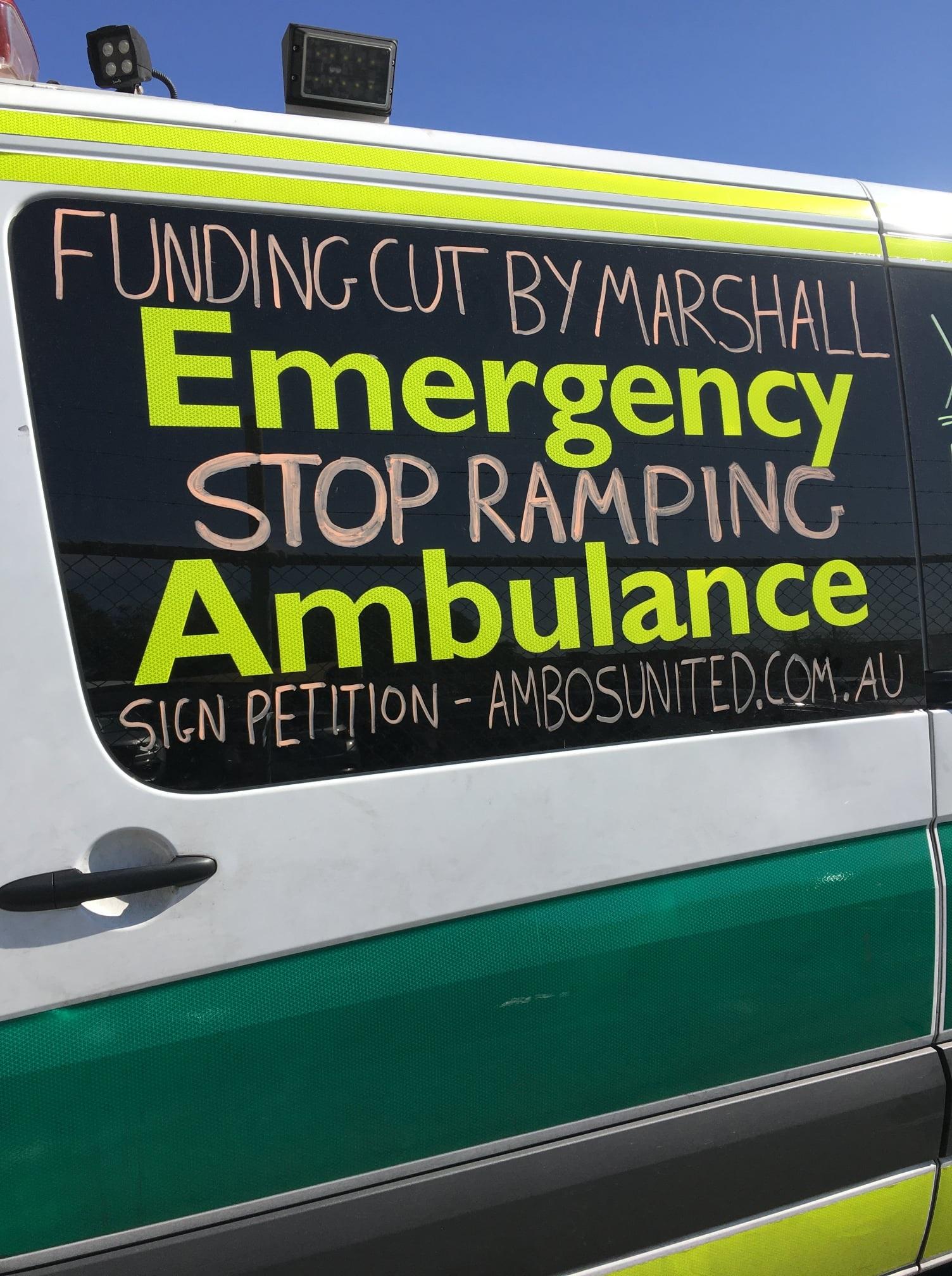 SA Ambulance Employees Association Campaign