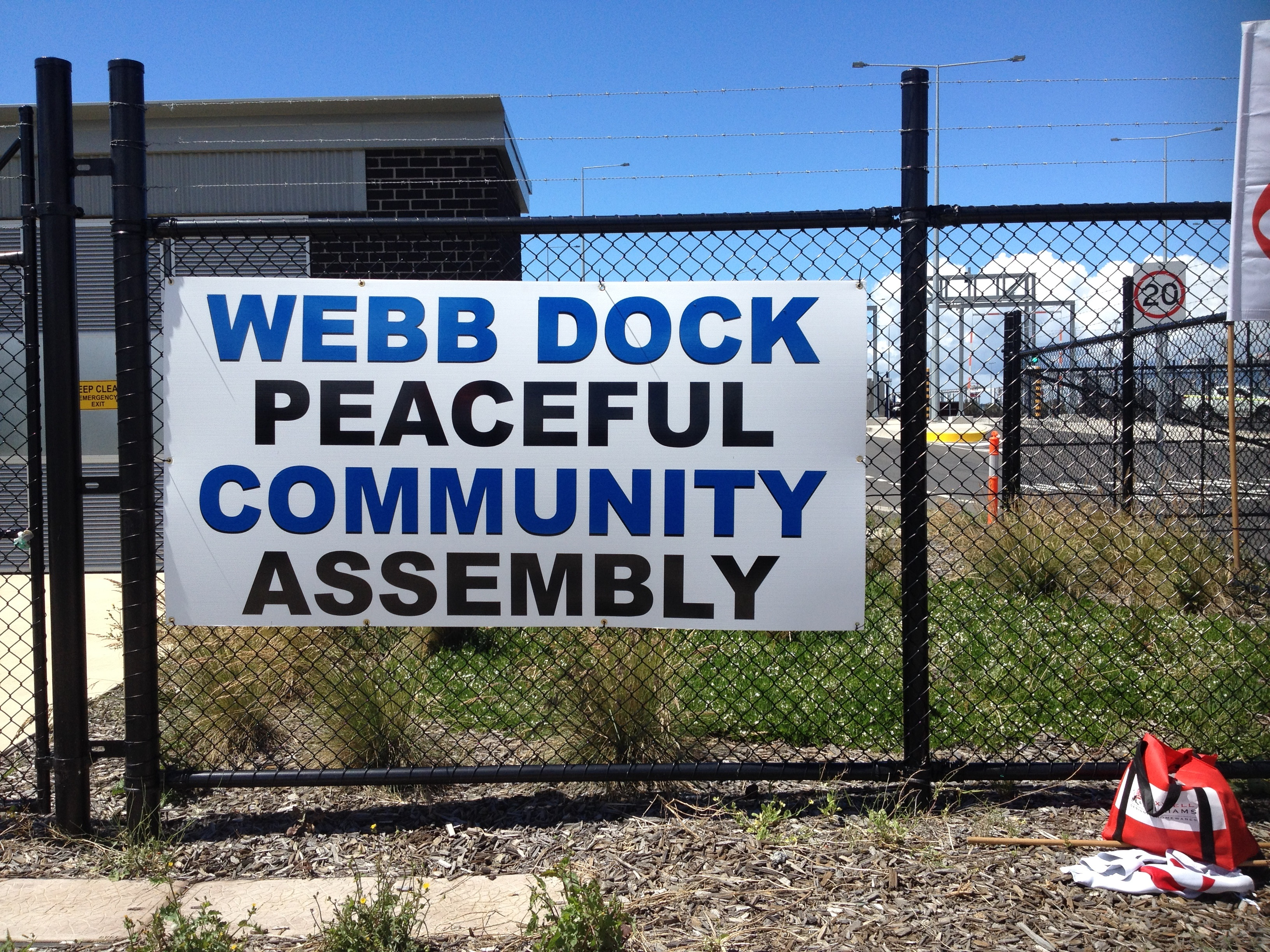 Webb Dock  Picket Ends