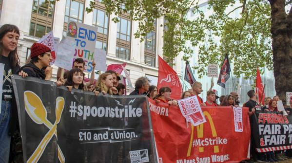 The Young and the Restless - Workers Strike for Higher Pay   3CR