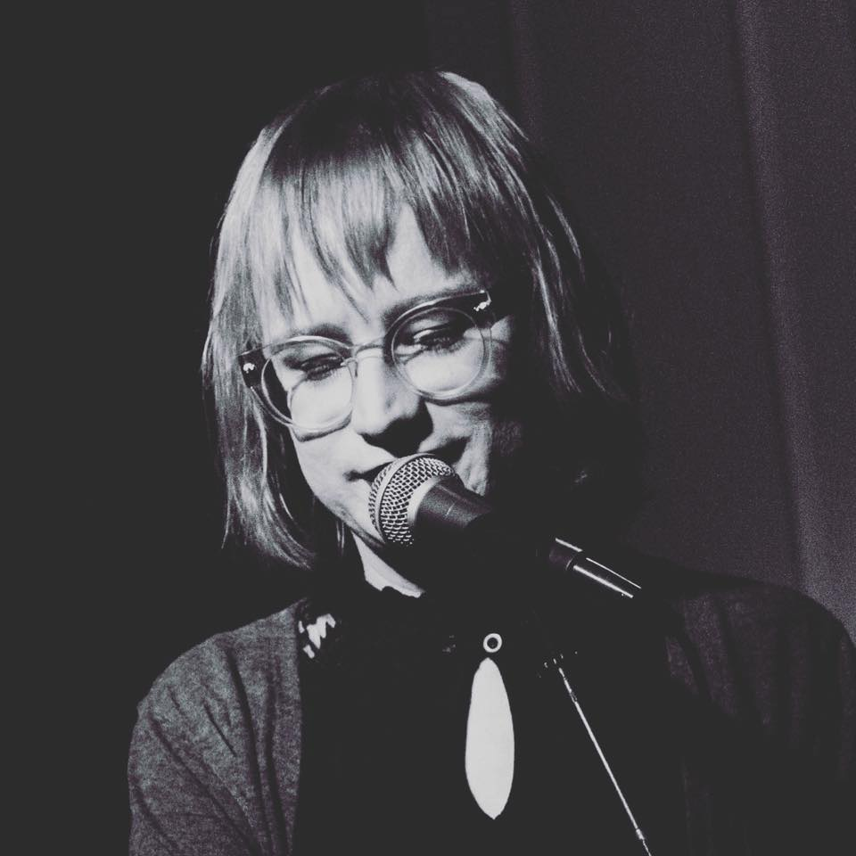 Photo of Bennie Solah at live poetry gig