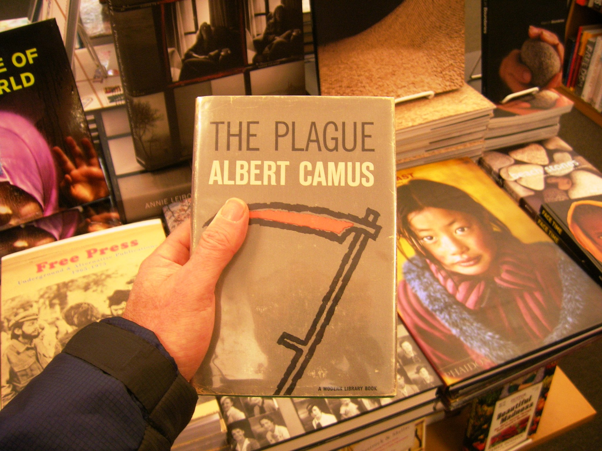 Winton Higgins, ALBERT CAMUS The Plague, Pope Francis Laudato Si.