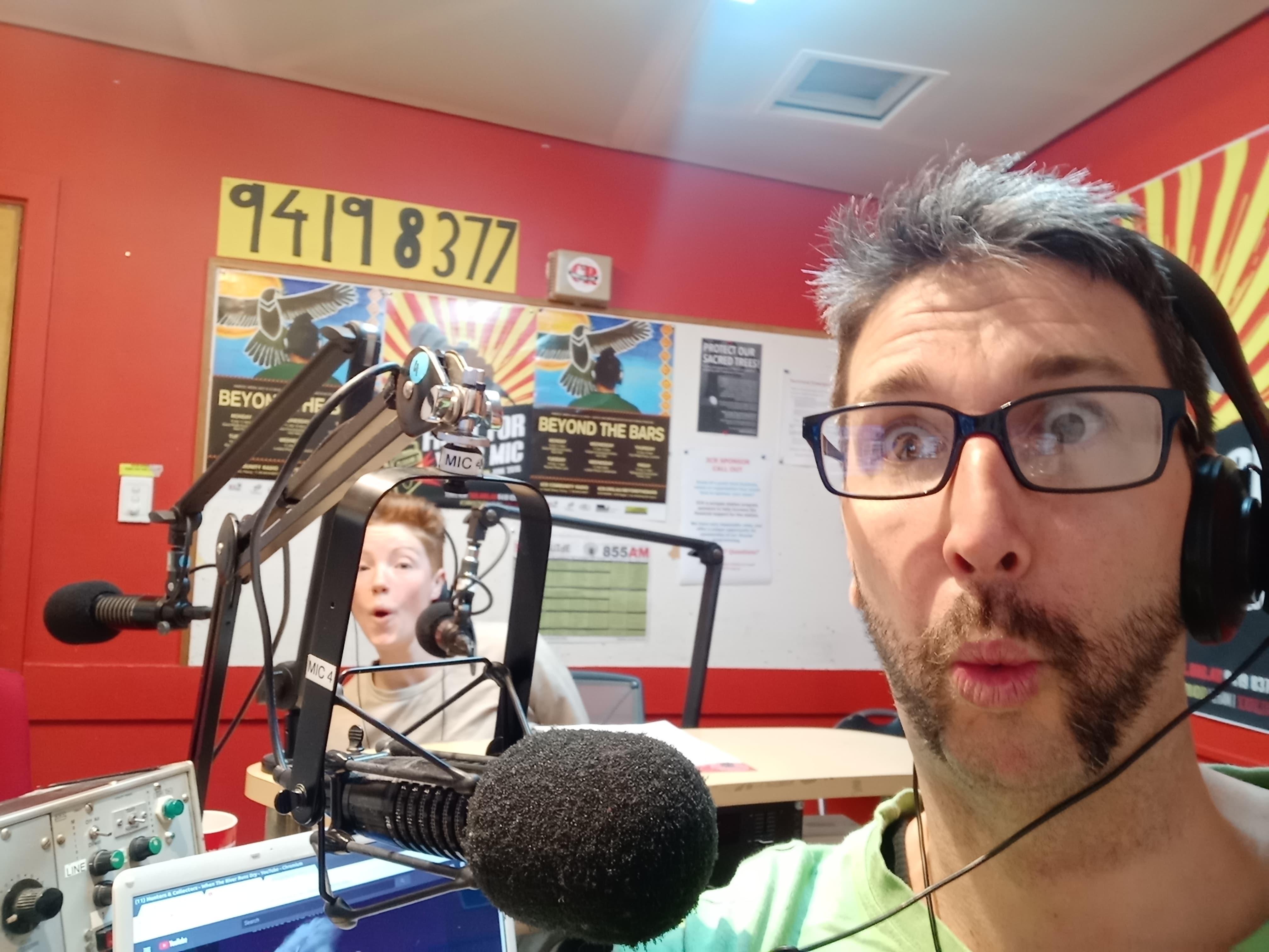 Megan Williams joins Dirt Radio's Phil Evans in the studio at 3CR