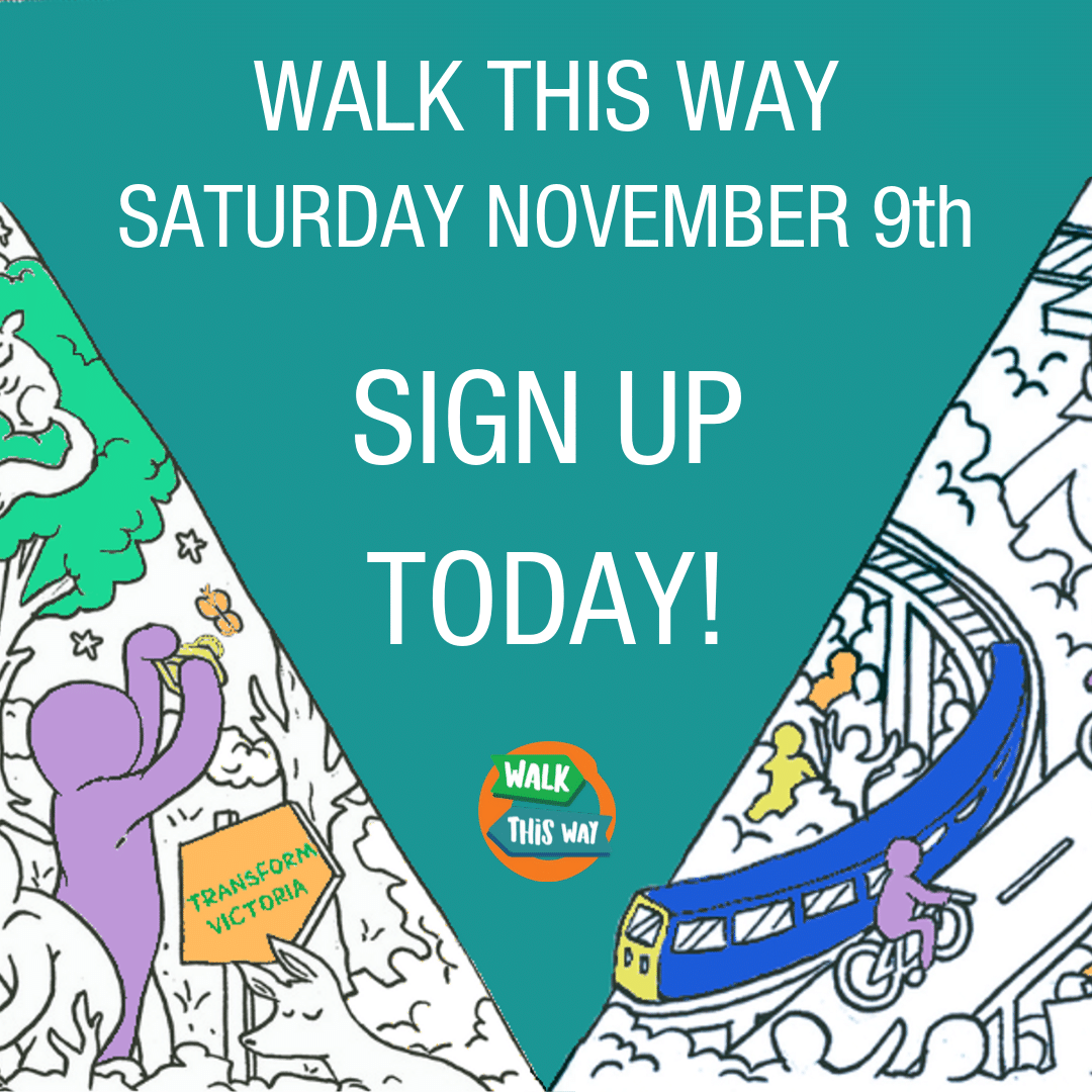 Sign up for Walk This Way