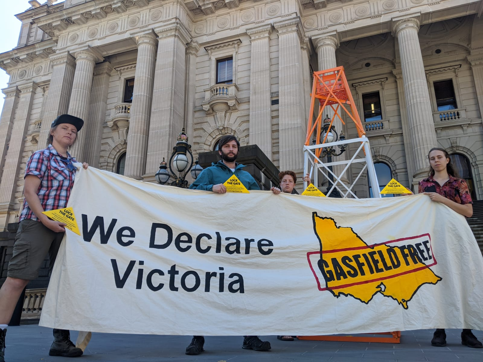 We declare Vic Gasfield Free
