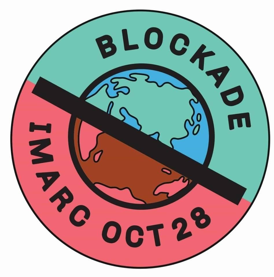 Logo for the Blockade IMARC campaign 2019