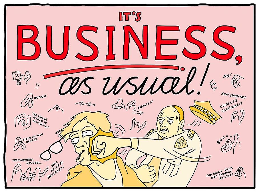 Illustration by Sam Wallman, published in Overland Magazine 30 October 2019.
