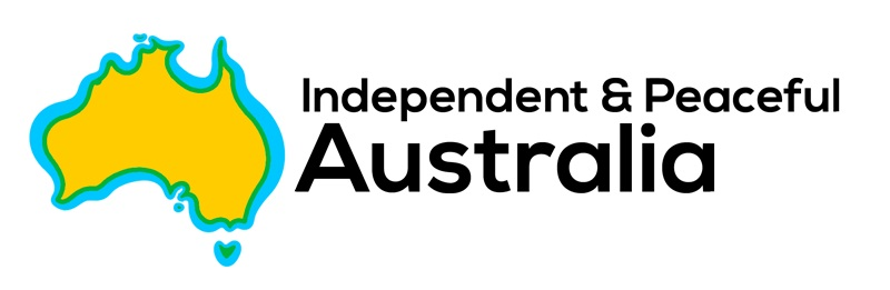 Independent & Peaceful Australia logo.