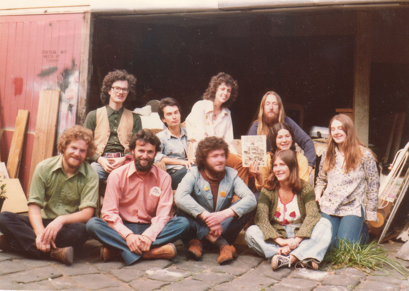 Friends of the Earth members in the 70's