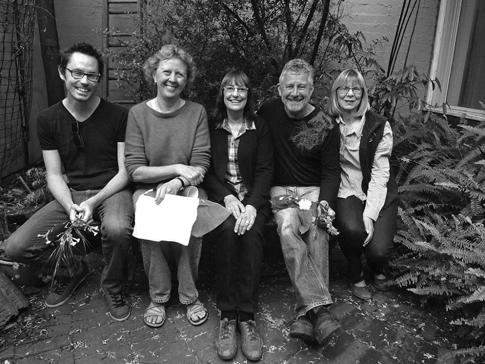 The Gardening Show team