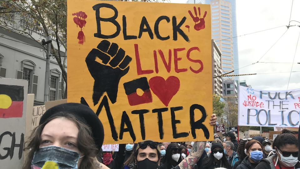 Blak Lives Matter rally 6 June 2020