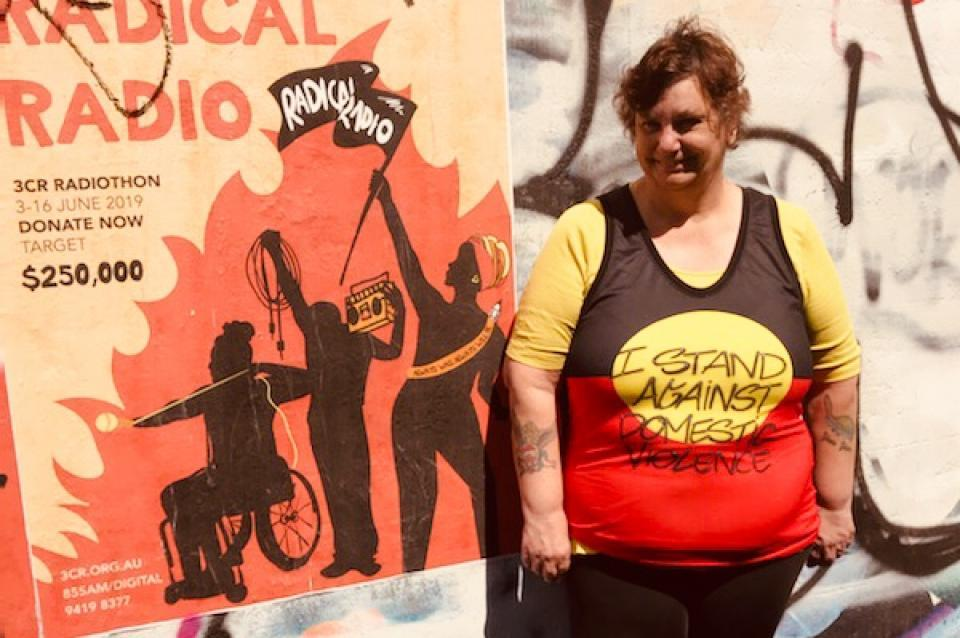 Yorta Yorta woman, Raising Our Voices broadcaster and disability advocate Jane Rosengrave